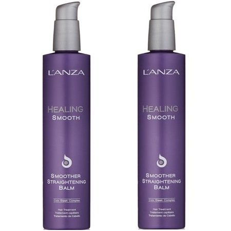 Lanza Smoother (LANZA Healing Smooth Smoother Straightening Balm 8.5 oz - 2 Pack )