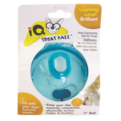 Our Pet's 2130010793 IQ Treat Ball Dog Toy, Medium, 3 Inch Length