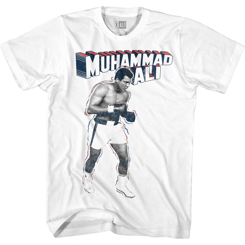 Muhammad Ali T-Shirt GOAT Black T-Shirt