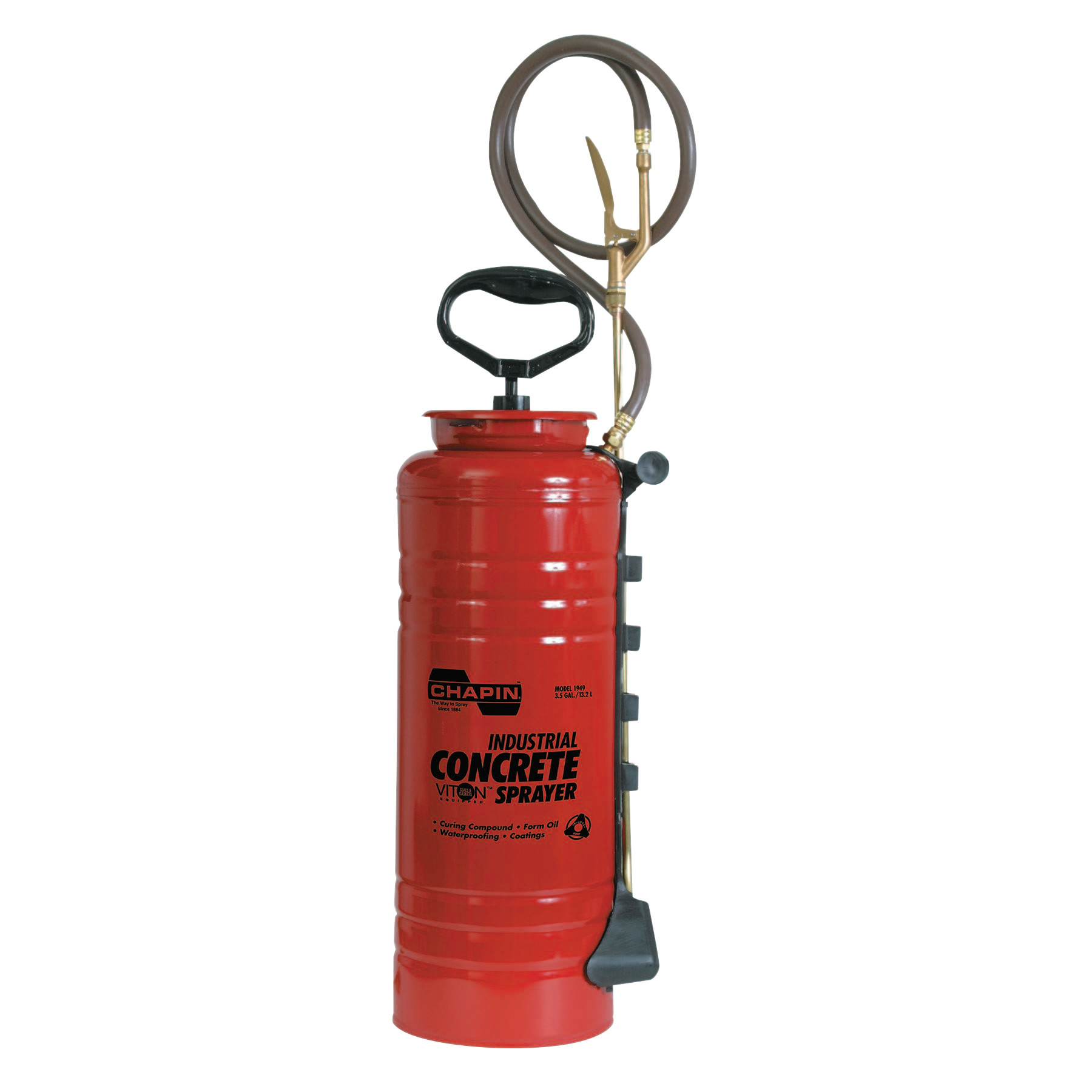Chapin Non-Acetone Concrete Sprayer, 3 1 2 gal, 24 in Extension, 36 in Hose by Chapin™