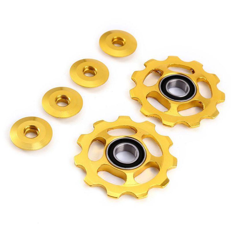 Details about  /Stylrtop 2 pcs 11T Aluminum Sealed Bearing Jockey Wheel Rear Derailleur Pulley