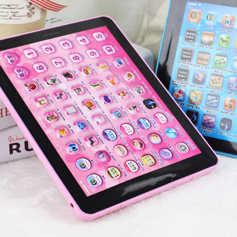 OUTAD Children Touch Tablet Pad Learning Reading Machine Early Education Machine
