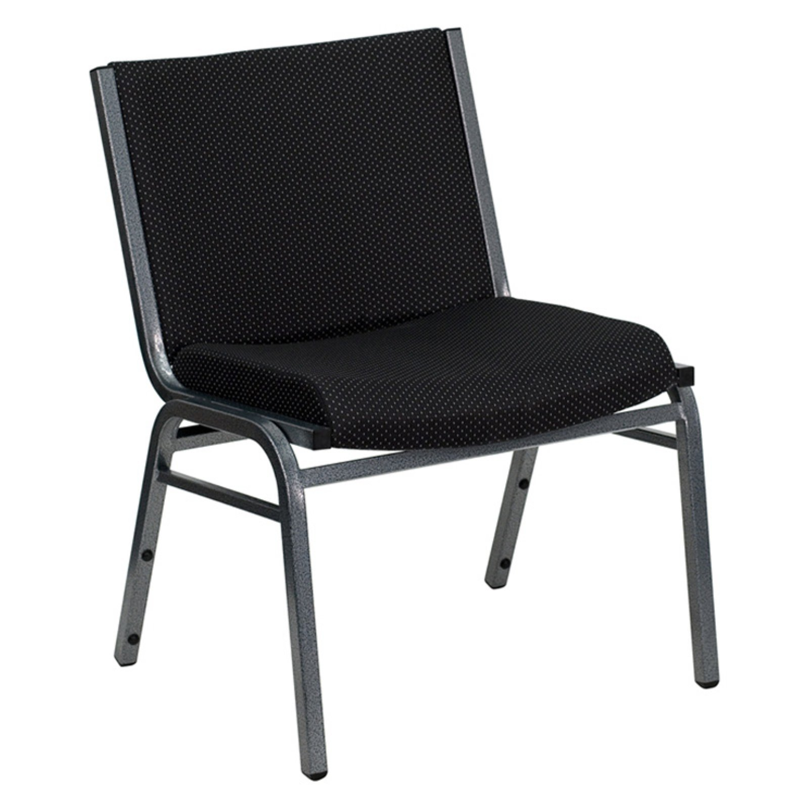 Flash Furniture HERCULES Series 1000 lb Capacity Big and Tall Extra Wide Fabric Stack Chair with Ganging Bracket, Multiple Colors