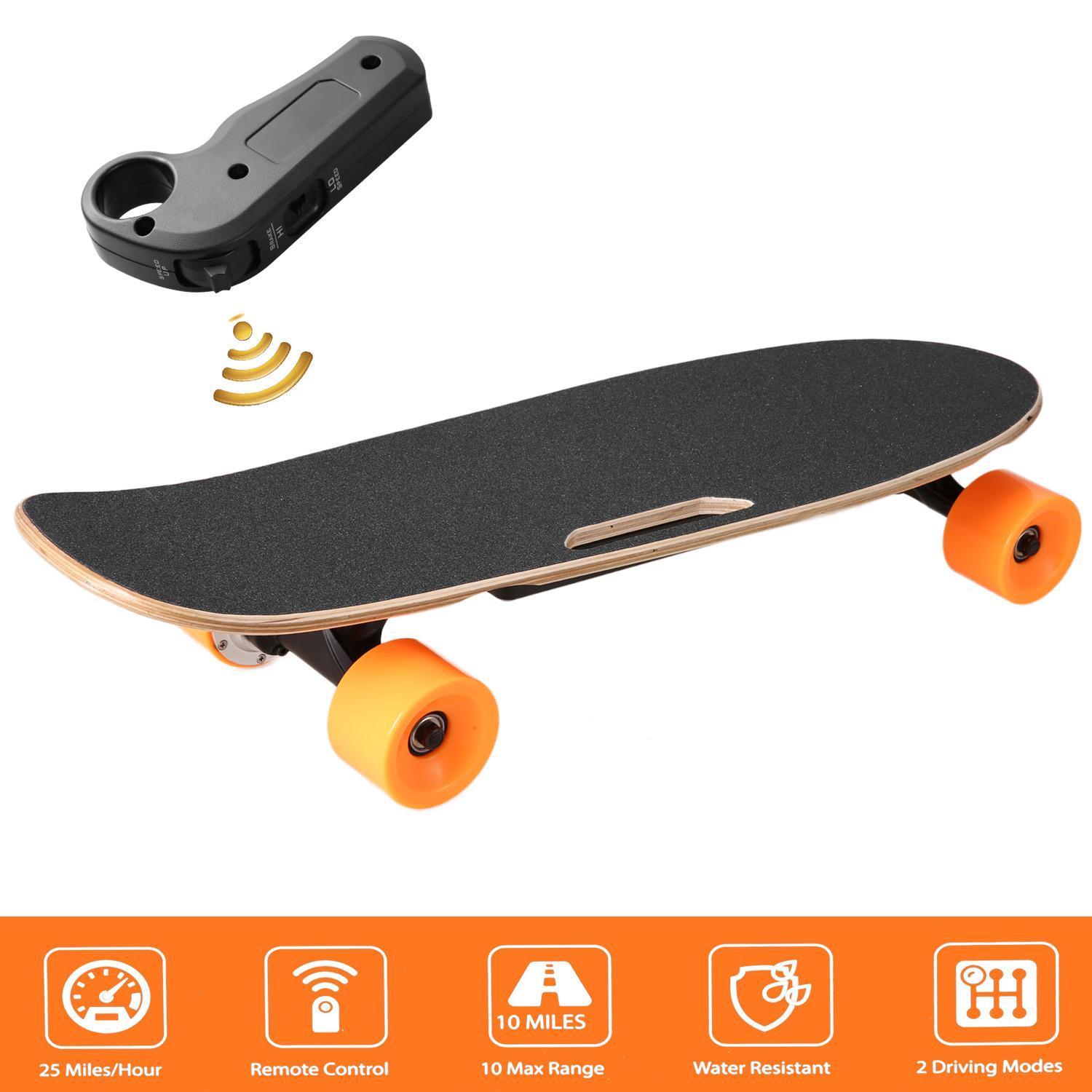 Electric Skateboard Longboard with Remote Controller BYE by