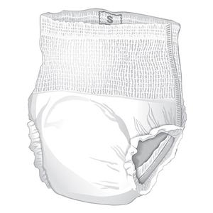 Presto Maximum Absorbency Underwear, Small (25'' to 32'' Waist) White Case of 80