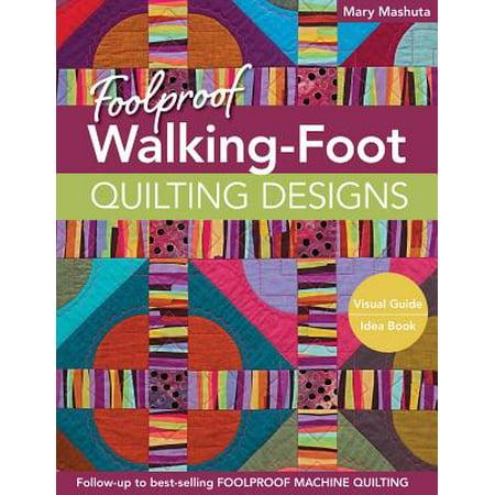 Quilting Designs - Foolproof Walking-Foot Quilting Designs - eBook