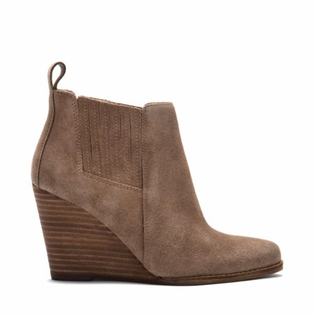 Jessica Simpson Women's Carolynn Slater Taupe /Oiled Suede 9.5 M US - image 5 of 5