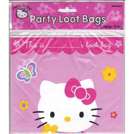 Hello Kitty Party Food (Hello Kitty Favor Bags (8ct))
