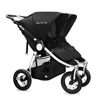 BumbleRide 2016 indie twin stroller with spf 45 sun canop...