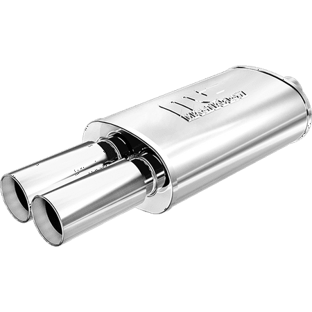 MagnaFlow Muffler W/Tip Mag SS 14X5X8 2.25/3