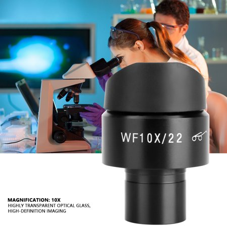 WALFRONT GWF002 wf10X/22 Wide-angle Microscope Eyepiece Stereo Ocular Lens Mounting 23.2mm , Eyepiece Lens, Microscope Lens - image 5 de 7