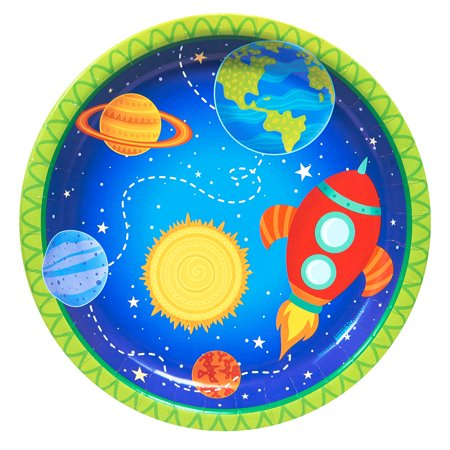 Space Birthday Party (Rocket To Space Party Supplies 32 Pack Lunch)