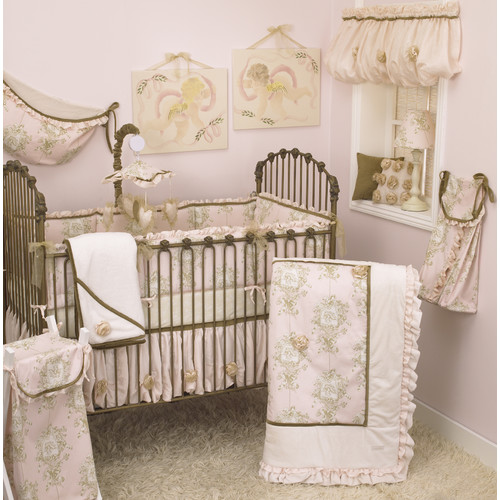 Cotton Tale Lollipops & Roses 8 Piece Crib Bedding Set by Cotton Tale Designs