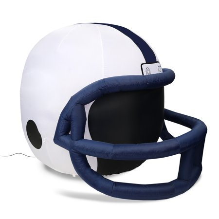NCAA Penn State Nittany Lions Team Inflatable Lawn Helmet, White, One Size