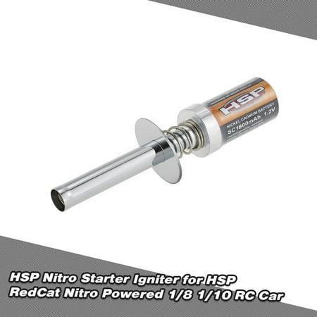 HSP Nitro Starter Kit Glow Plug Igniter for HSP RedCat Nitro Powered 1/8 1/10 RC Car ()