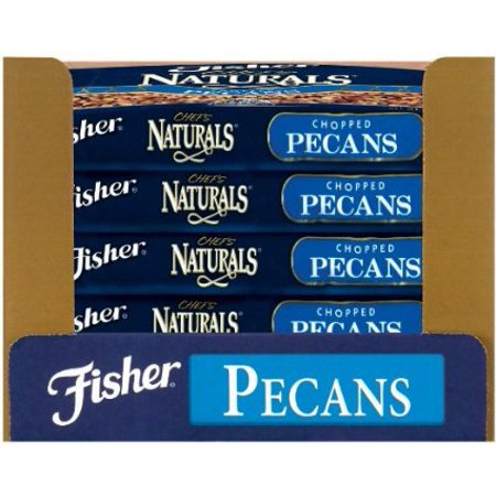 Fisher Pecan Pieces, Fancy, Medium, 5-Pound Packages