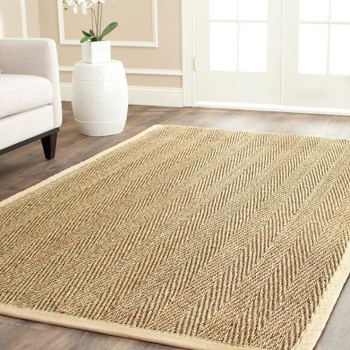 Safavieh Casual Natural Fiber Warm Hand Woven Sisal Natural Beige