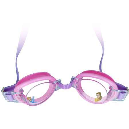 a0611ca5ac4 Disney Princess Splash Swim Goggles Water Pool Beach Girls Eye Ware -  Walmart.com