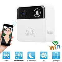 WiFi 720P HD Visual Audio Doorbell Camera IR Night Vision Wireless Remote Monitoring Door Bell , WiFi Doorbell,Video Doorbell