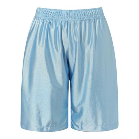 Richie House Boys Light Blue Leisure Classic Smooth Sports Shorts 8/9