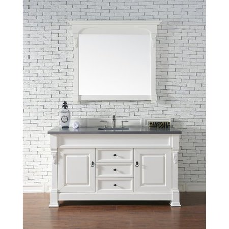Darby Home Co Bedrock 60'' Single Antique Black Bathroom Vanity Set - Darby Home Co Bedrock 60'' Single Antique Black Bathroom Vanity Set