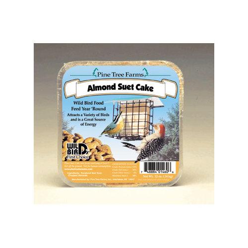 Pine Tree Farms Almond Suet Cake Bird Food
