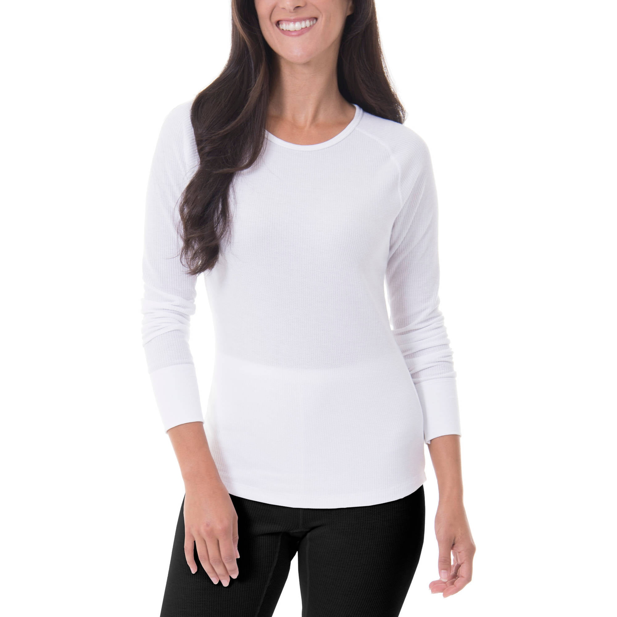Fruit of the Loom Women's Waffle Thermal Underwear Top by