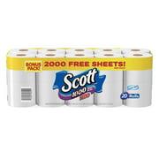 Scott 1000 Toilet Paper, Bonus Pack, 20 Rolls