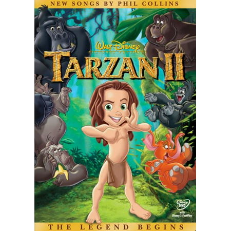 Tarzan II (DVD) - Tarzan Movie Adult