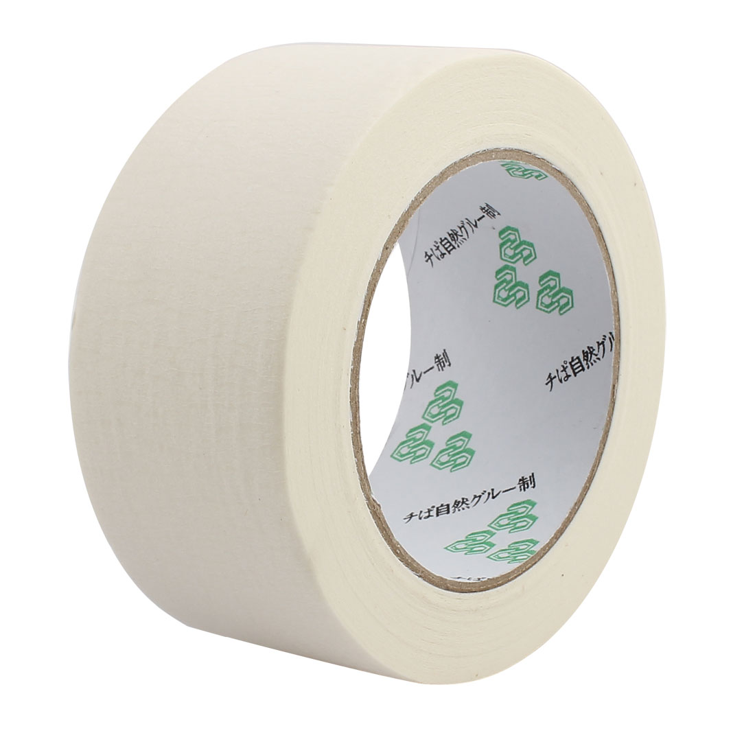50mm Width Adhesive Paper Painting Writing Decoration Tape White 50M Length