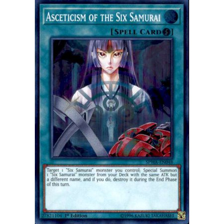 YuGiOh Spirit Warriors Asceticism of the Six Samurai