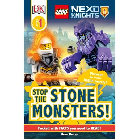 DK Readers L1: LEGO NEXO KNIGHTS Stop the Stone Monsters! : Discover the Knights' Battle