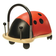 Prince Lionheart WheelyBUG Ladybug, Small, Child Ride-On Toy, Multi-Directional Casters, Helps Promote Gross Motor Skills and Balance