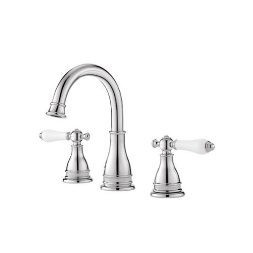 Lovely Pfister Sonterra Double Handle Polished Chrome Bathroom Faucet