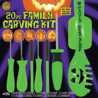 20 Piece Family Pumpkin Carving Kit by Fun World