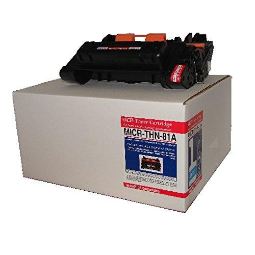 Micromicr Micr Toner Cartridge - Replacement For Hp [81a] - Black - Laser - Standard Yield - 10500 Page - 1 Each (thn81a)