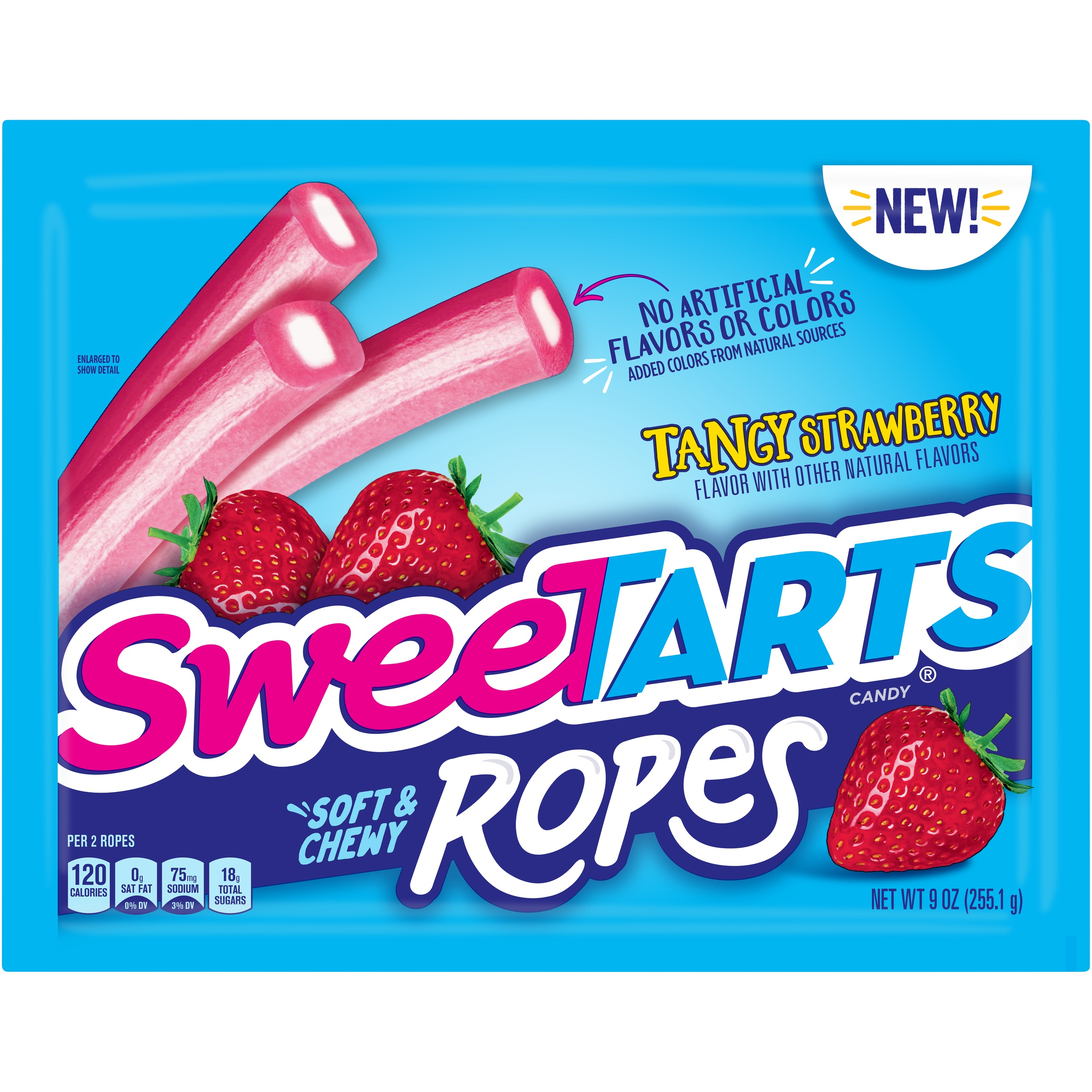 SWEETARTS Soft & Chewy Ropes Tangy Strawberry 9 oz. Pack - Walmart.com