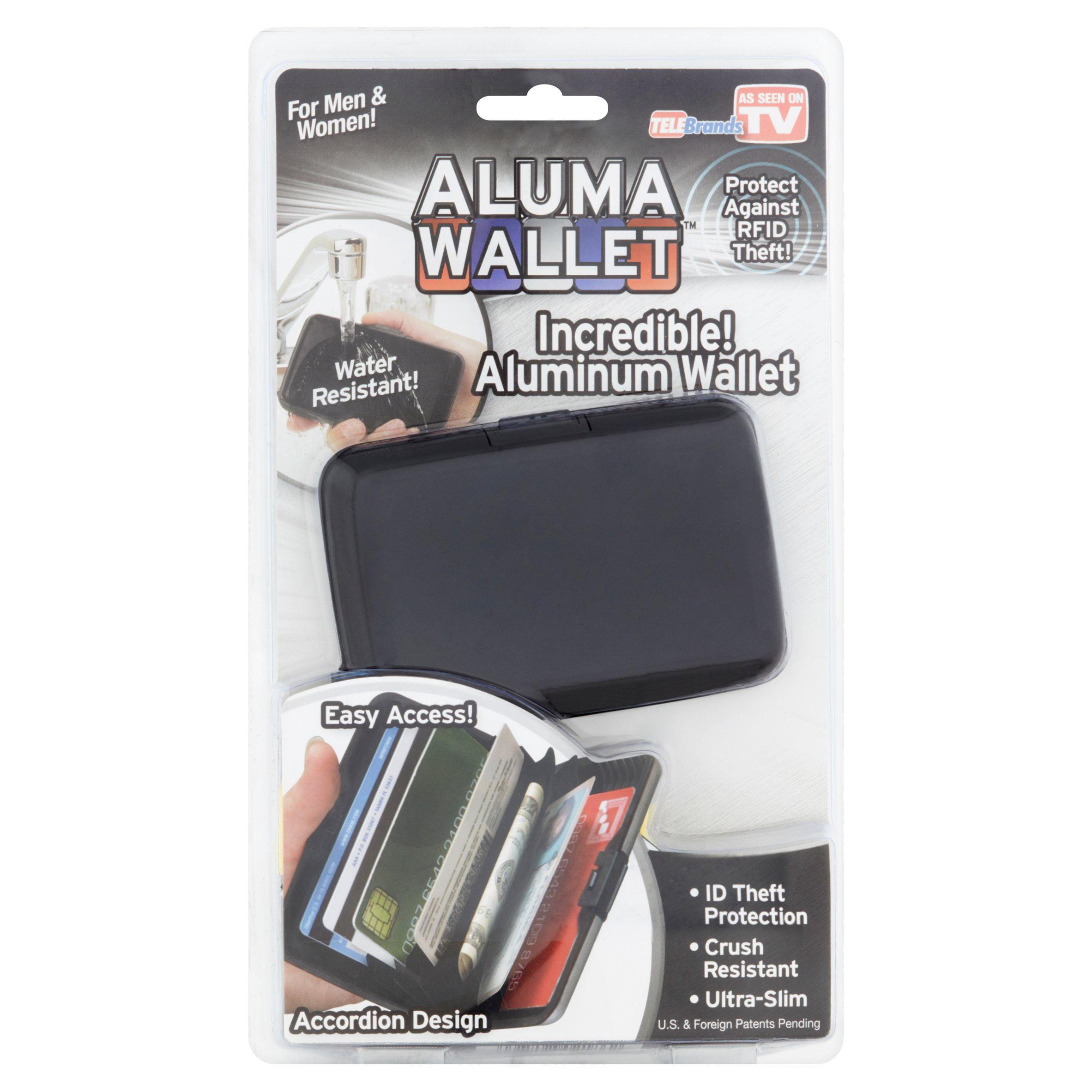 Aluma Aluminum Wallet for Men & Women