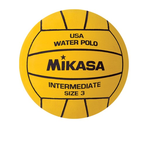 Water Polo Ball by Mikasa Sports - Size 3, Yellow - Varsity Series