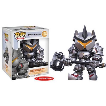 Funko Pop! Games: Overwatch - Reinhardt 6