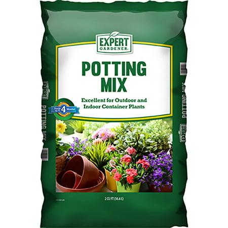 Expert Gardener Potting Mix Potting Soil 2 Cubic Foot