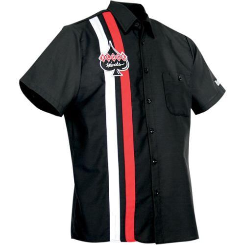 Throttle Threads Shop Shirt Mens Button Up Klock Werks