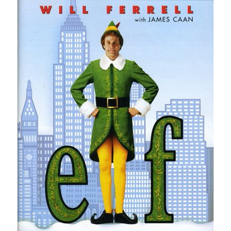 Elf (Blu-ray) (Will Ferrell Cheerleader)