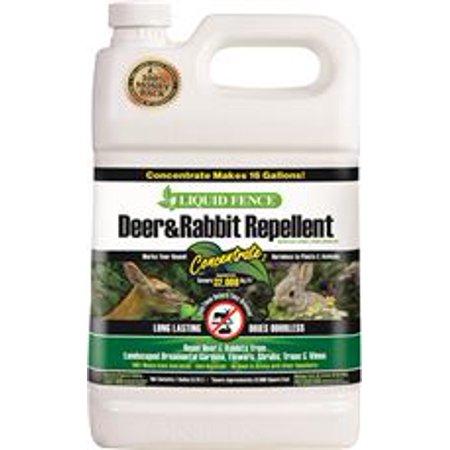 - Liquid Fence Deer And Rabbit Repellent, Concentrate, 1 Gallon