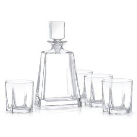 Mouth Blown Crystal Lead Free Hiball Glass 13 Oz 4 Pc Set Walmart Com Walmart Com