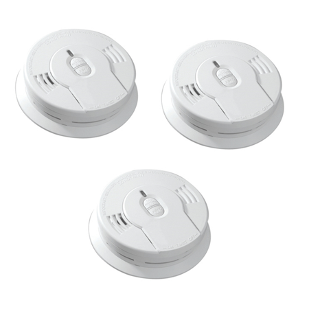 Kidde Sealed Lithium Battery Power Smoke Detectors i9010 Value Pack