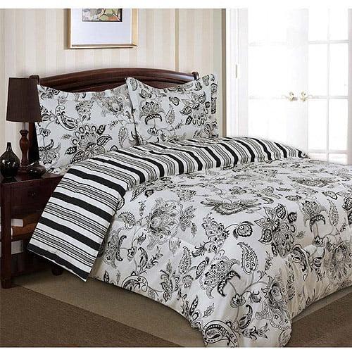 Divatex Home Fashions Printed Cordoba Bedding Duvet Cover and Sham Set