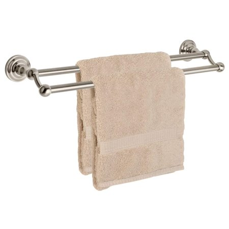 Dynasty Hardware 3816 SN Palisades 24 Double Towel Bar Satin Nickel ()
