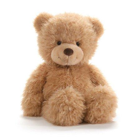 """Ginger Bear Stuffed Teddy Plush, 15"""", Ginger Bear classic beige teddy By GUND"""