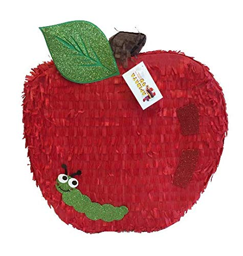Red Apple Pinata for Fruit Theme Party
